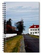 Mt. Vernon'esque In Wa Spiral Notebook