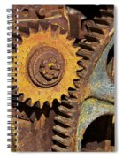 Mud Caked Gears Spiral Notebook