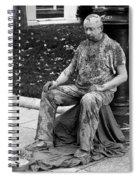 Mud Man Spiral Notebook