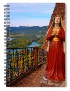 Mujer De La Piedra Spiral Notebook