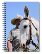Mules At Benson Mule Day Spiral Notebook