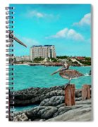 Mullet Bay Spiral Notebook