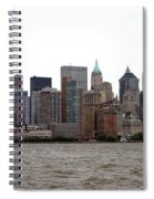 Multi Color Nyc Buildings Spiral Notebook