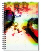 Multi Colored Hearts Spiral Notebook