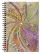Multi Colored Pinwheel Spiral Notebook