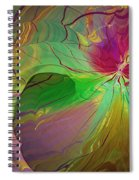 Multi Colored Rainbow Spiral Notebook