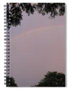 Multicoloured Arc Spiral Notebook