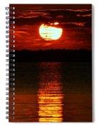 Multiline Sunset Spiral Notebook