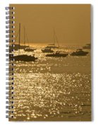 Mumbai In The Morning In December Spiral Notebook
