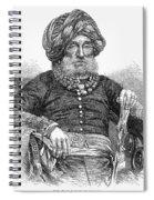 Mummadi Krishnaraja Wadiyar Spiral Notebook