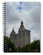 Municipal Building In New York Spiral Notebook