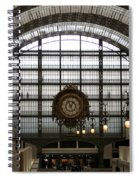 Musee D'orsay's Clock Spiral Notebook