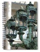 Museum Lights Spiral Notebook