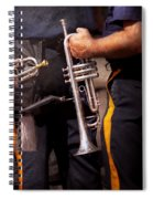 Music - Trumpet - Police Marching Band  Spiral Notebook