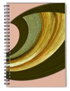 Music And Color - Dancing Digital Spiral Notebook
