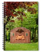 Music Hall And Park Spiral Notebook
