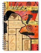 Music Is My Sanctuary Spiral Notebook