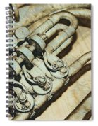 Music Of The Past Spiral Notebook
