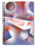 Music Of The Spheres Spiral Notebook