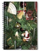 Musical Christmas Tree  Spiral Notebook