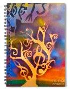 Musical Roots Spiral Notebook