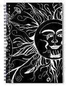 Musical Sunrise - Inverted Spiral Notebook