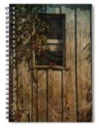 Musical Window Spiral Notebook