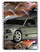 Mustang Saleen  Spiral Notebook