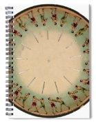 Muybridge Zoopraxiscope, Athletes Spiral Notebook