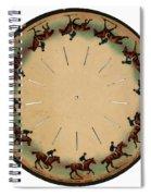 Muybridge Zoopraxiscope Horse Spiral Notebook