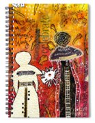 My Angelic Sistah And I Are Free To Dream Spiral Notebook
