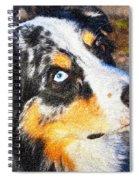 My Brown Eyes Blue 3 Spiral Notebook