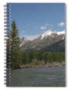 My Favorite Of The Grand Tetons Spiral Notebook