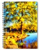 My Golden Impression Spiral Notebook