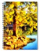 My Golden Tree Spiral Notebook
