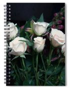 My Last Roses Spiral Notebook