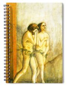 My Masaccio Expulsion Of Adam And Eve Spiral Notebook