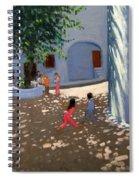 Mykonos Monastery Spiral Notebook