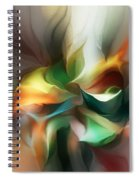 Mysterious Bloom Spiral Notebook