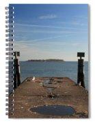 Mysterious Island Spiral Notebook