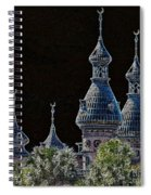 Mysterious Minarets Spiral Notebook