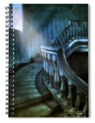 Mysterious Stairway In Old Mansion Spiral Notebook
