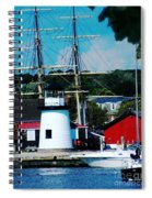 Mystic Seaport Ct Spiral Notebook