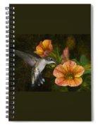 Mystical Flight Spiral Notebook