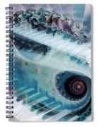 Mystical Keys Spiral Notebook