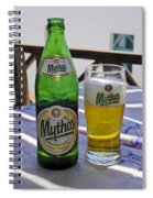 Mythos Beer Spiral Notebook