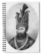 Nadir Shah (1688-1747) Spiral Notebook