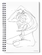 Naked-female-art-23 Spiral Notebook