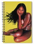 Naomi Campbell Spiral Notebook