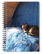 Nap After The Meal Spiral Notebook
